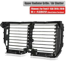 Upper Radiator Grille Air Shutter Assembly For Ford F-150 2015-2017 FL3Z8475F