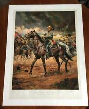 Don Troiani Civil War Limited Edition Lithograph Print - J.E.B. Stuart - w/COA