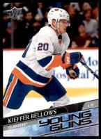 2020-21 UD Series 1 Base Young Guns #241 Kieffer Bellows RC - New York Islanders