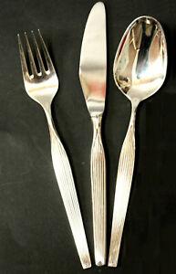 Robbe und Berking CITY, Dessert Speisebesteck, R&B, 6 Pers.,18 Teile,90er Silber