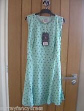 Jack Wills Shearington Green Ditsy Dress Size 8 NEW (tags) RRP £79.50 (Ref Z)