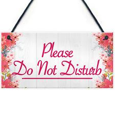 Please Do Not Disturb Therapist Hotel Privacy Hanging Plaque Home Door Gift Sign