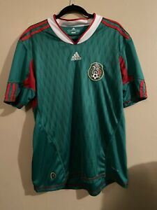 Mexico National Soccer Team Adidas Replica Soccer Jersey (Adult Large) Green