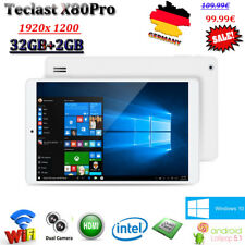 8'' 2/32GB Teclast X80Pro Android 5.1+Windows10 WIFI HDMI Tablet PC BT 1920*1200