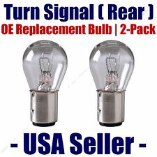 Rear Turn Signal/Blinker Light Bulb 2-pack Fits Listed Dodge Vehicles - 2057