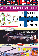 DECAL 1/43 VAUXHALL CHEVETTE 2300 HS P.AIRIKKALA RAC R.1979 7th (07)