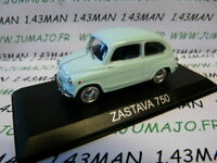 BAL47H Voiture 1/43 IXO DEAGOSTINI Balkans : ZASTAVA 750 (Fiat 600)