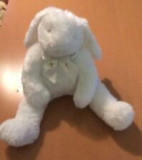 """Bunnies By The Bay Big White Bunny Named Carrots  16"""""""