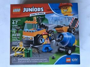LEGO City Juniors Road Repair Truck Construction Set 10750 - New Sealed