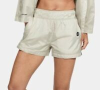 UNDER ARMOUR UA Always On Recover Summit White Athlete Recovery Shorts Womens M