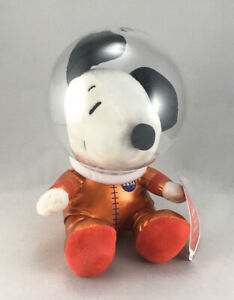 "Hallmark Peanuts Stuffed Plush NASA 50th Anniversary Astronaut Snoopy 8"""