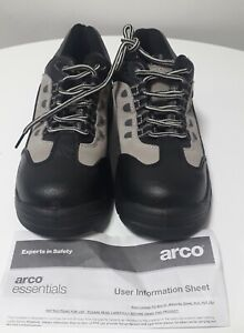 Arco Essentials Safety Shoes Trainers, Steel Toe Cap Boots Size 8 UK