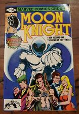 MOON KNIGHT #1  - ORIGIN AND 1ST APPEARANCE OF RAOUL BUSHMAN - VF 8.0