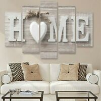 5pcs Modern Canvas Oil Painting Home Wall Art Room Decor Picture Print Decors