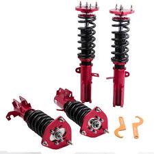 24 Ways Damper Coilovers for Toyota Corolla 88-99 E90 E100 E110 AE92-AE111 Red