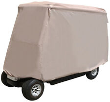 "4 Pass Golf Cart Storage Cover -EZGO - Club Car -Yamaha - 80"" Top"