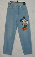 Vintage Disney Mickey by Jerry Leigh _ Sz 11 _ Tapered High Waist Mom Jeans