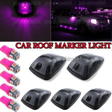 Cab Marker Roof Running Light Cover Pink Purple For Chevrolet C/K1500 2500 3500