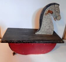 Vintage/antique wooden ride on toy