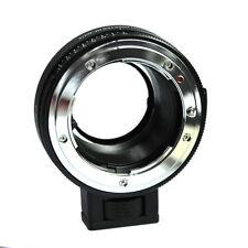 NF-MFT Aperture Adapter for Nikon A F G D Mount Lens to Micro M4/3 MFT Camera