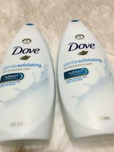 2 Dove Body Wash Gentle Exfoliating with Sea Minerals 22 Oz each BB20