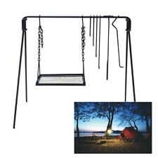 Campfire Cooking Stand, Outdoor barbecue Campfire Cooking Equipment Bbq Grill Us