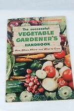 "VTG 1943 Gardening Book ""The Successful Vegetable Gardener's Handbook"""