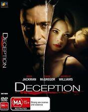 DECEPTION DVD R4 Hugh Jackman / Ewan McGregor