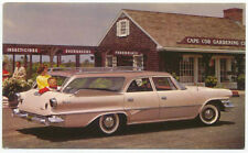 Dodge Dart Pioneer Station Wagon c1960 original Postcard