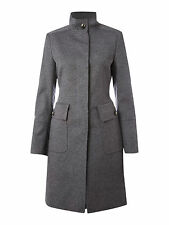 Cappotto nero STEFANEL black coat EU38 IT42 UK10