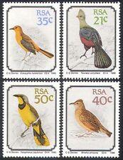 RSA/South Africa 1990 Shrike/Chat/Lark/Turaco/Birds/Nature/Wildlife 4v set b1307
