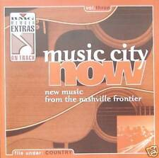 VARIOUS ARTISTS - MUSIC CITY NOW: FROM THE NASHVILLE FRONTIER -  CD, 1999