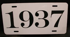 1937 Year License Plate Fits Chevy Ford Chrysler Buick Packard Oldsmobile Desoto