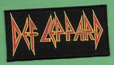 "New Def Leppard  2 X 4 "" Inch Iron on Patch Free Shipping"