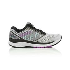 New Balance 860v9 Wide (D) Women's Running Shoe - White/Voltage Violet/Black