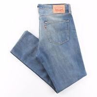 Vintage LEVI'S 508 Blue Denim Regular Tapered Jeans Mens W34 L31