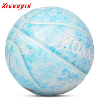 Kuangmi PU Basketball Size 7 29.5 Ball Outdoor Indoor Training Basketball