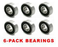 6 Bearings-Murray AYP 12325MA,1501389MA,49562MA,782973MA,Simplicity 1705897SM,40