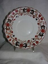 Wellington China JHC & Co Longton England Hand Rust Painted Floral 9¼