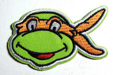 "MICHELANGELO Teenage Mutant Ninja Turtles 3.5"" Cartoon Patch-FREE S&H(TMNTPA-09)"