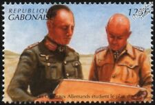 WWII 1941 North Africa: German Generals Planning Attack on Tobruk Stamp
