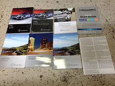 2014 MERCEDES BENZ E CLASS E200 250 300 500 Owners Manual SET SEDAN & WAGON