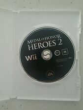 Medal of Honor Heroes 2 Nintendo Wii - Pal - DISC ONLY - Fast Free Post!