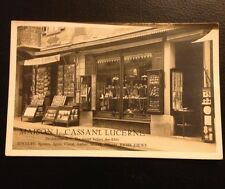 Postkarte Luzern Lucerne Maison L. Cassani