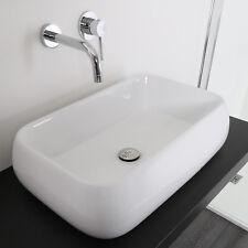 Lavabo 60 x 42 da appoggio ceramica lavandino design sanitari arredo bagno nuovo