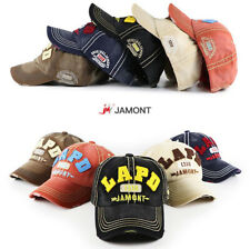 JAMONT Trucker Basecap Mütze Unisex CAMOUFLAGE Vintage Baseball  Design Cap LAPD