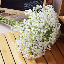 10pcs Romantic Baby's Breath Gypsophila Silk Flower Party Wedding Home Décor
