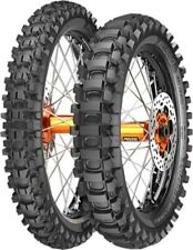METZELER OFF-ROAD 80/100-21 FRONT & 110/90-19 REAR TIRE SET MIDHARD DIRT HONDA