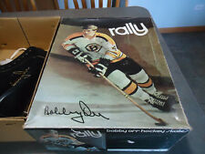 Bobby Orr Boston Bruins signature Hockey  skates vintage new in box Rally size 8