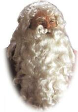 Santa Wig and Beard Set One Size, White